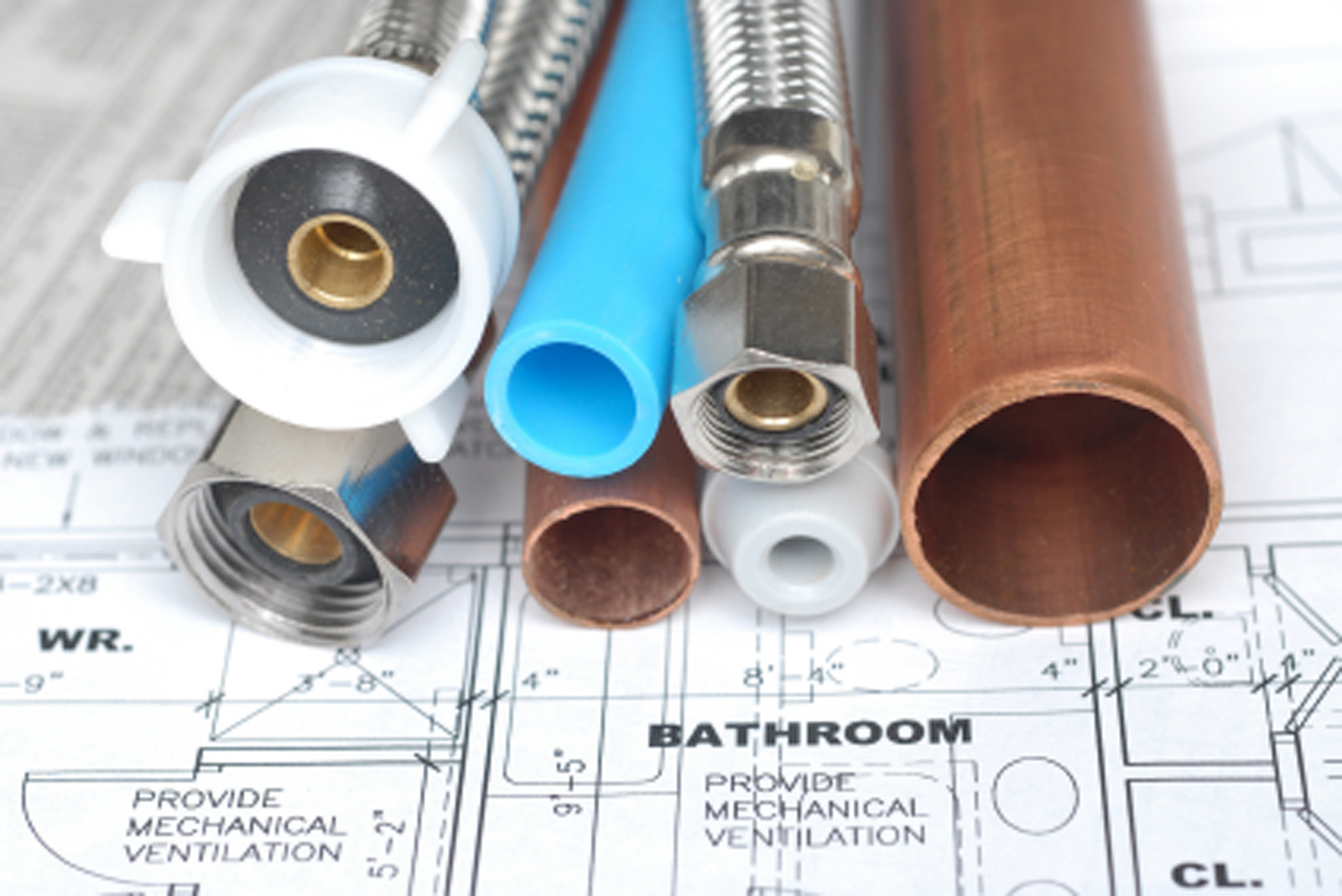 Plumbers cheltenham ch plumbing heating engineers in for Types of plumbing pipes materials
